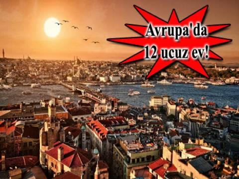 Ucuz daireler İstanbul Avrupa Yakası!
