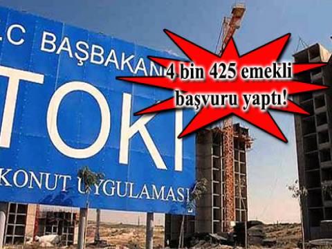 TOKİ'nin emekliye İkinci Bahar Projesi'ne ilk gün rekor başvuru geldi!