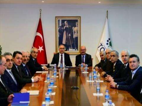 TOKİ ile ATO Ankara'ya Teksti̇lci̇ler Si̇tesi̇ inşa edecek!