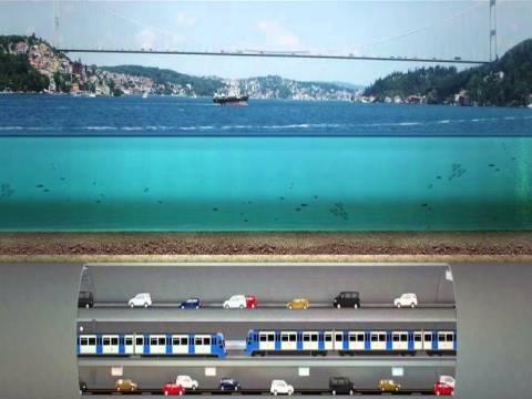 3 Katlı Büyük İstanbul Tünel projesi için teklifleri bugün alınacak!