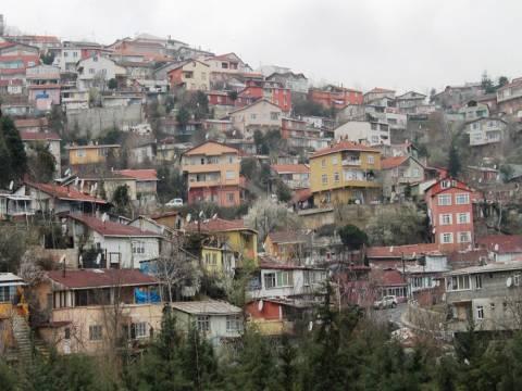 Sarıyer Armutlu'da yapıların yüzde 65'i kaçak çıktı!