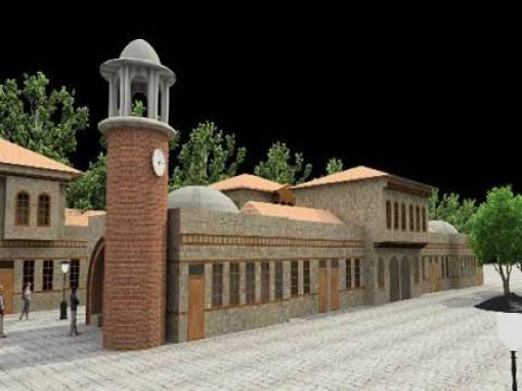 Nene Hatun Tarihi Milli Parkı şehrin tarihi dokusunu yansıtacak şekilde tasarlandı!