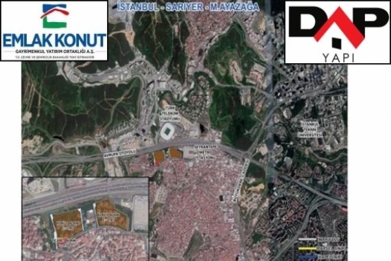 DAP Yapı Ayazağa projesi başlıyor!