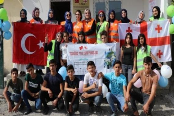 TİKA Gürcistan'daki kültür merkezine destek verdi!