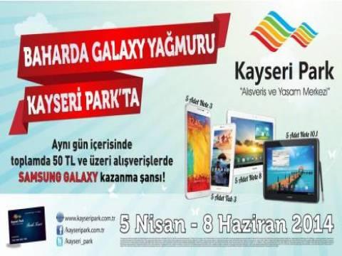 Baharda Galaxy Yağmuru Kayseri Park'ta!