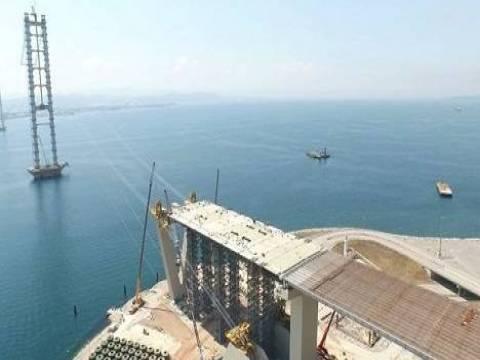 İzmir Körfez Geçiş Köprüsü inşaatı ne durumda?