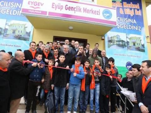 Yeşilpınar Bilgievi ve Gençlik Merkezi hizmete açıldı!