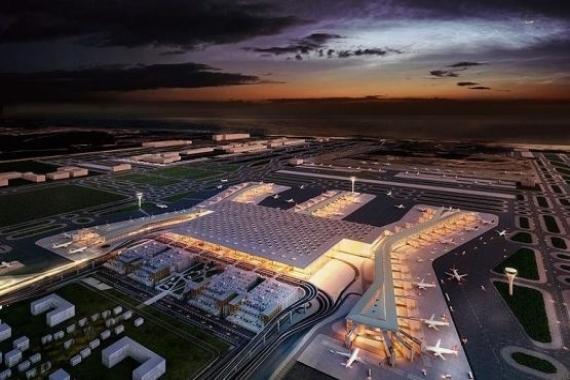 İstanbul Yeni Havalimanı'nın yüzde 97'si tamamlandı!