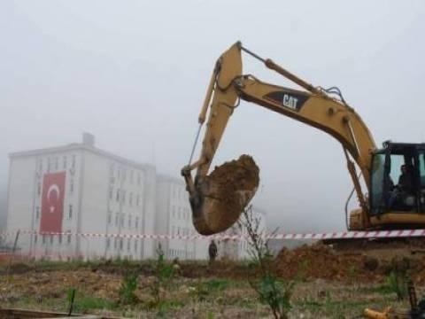 TOKİ inşaatını Giresun Belediyesi mühürledi!