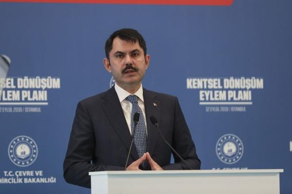Murat Kurum: Ne pahasına olursa olsun dönüşümü yapacağız!