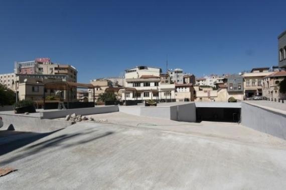 Gaziantep Tarihi Bey Mahallesi'ne yeraltı otoparkı inşa edildi!