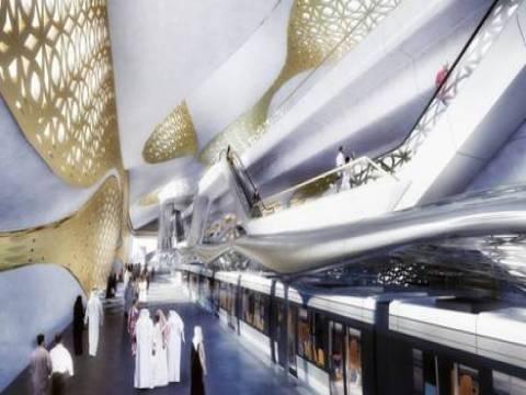 Riyad metrosu 22,5 milyon dolar bedelle hayata geçiriliyor!