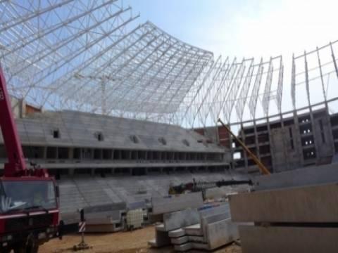 Antalya Stadyumu Nisan' ayında tamamlanacak!