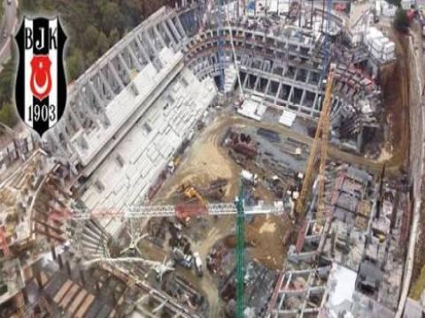 Vodafone Arena inşaatında çalışmalar sürüyor!