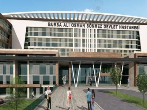 Bursa Ali Osman Sönmez Devlet Hastanesi açılışı 2019'da!