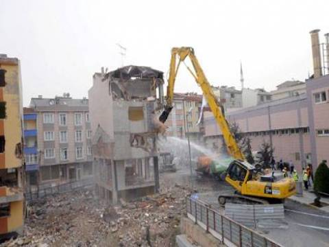 Bağcılar'da kentsel dönüşüm yıkımları yarın başlıyor!