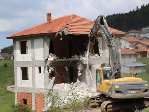 Ruhsatsız inşaat cezası!