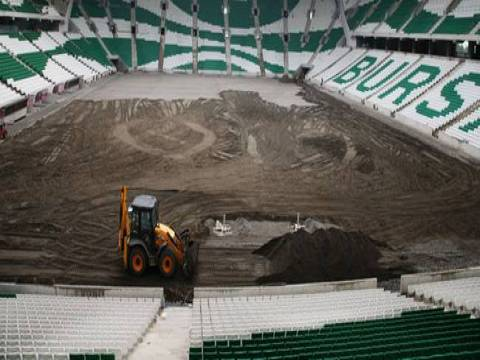 Bursa'nın yeni stadyumu tamamlanıyor!