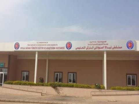 Sudan-Türkiye Eğitim ve Araştırma Hastanesi hizmete açıldı!