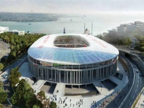 Beşiktaş Vodafone Arena'nın hafriyat çalışmaları tamamlandı!