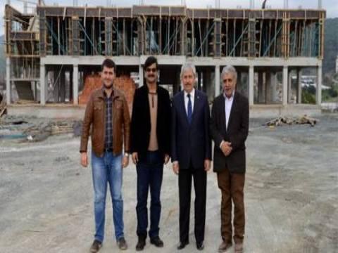 Sarıcasu İlkokulu'ndaki inşaat çalışmaları devam ediyor!