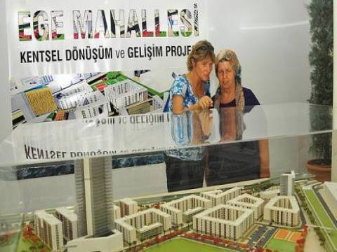 İzmir Ege Mahallesi, kentsel dönüşüm koşullarını adaletsiz buldu!