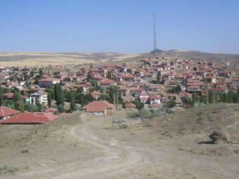 Ankara Bala'da 900 konutun yıkımına başlandı!