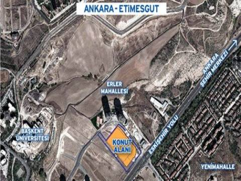 Emlak Konut GYO Ankara Etimesgut'ta arsa satıyor!
