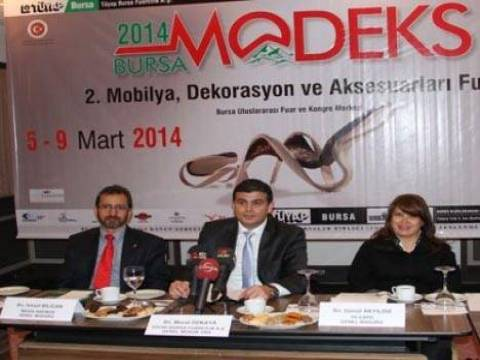 Bursa MODEKS 2014 Fuarı açılıyor!