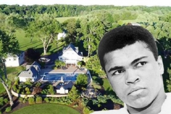 Türken Vakfı, Muhammed Ali'nin çiftlik evini satın aldı!