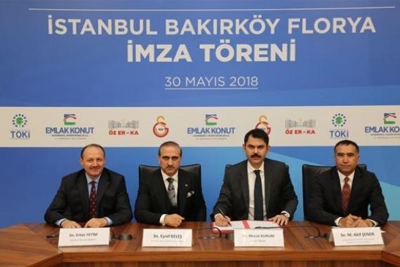 Galatasaray Florya projesi için imzalar atıldı!