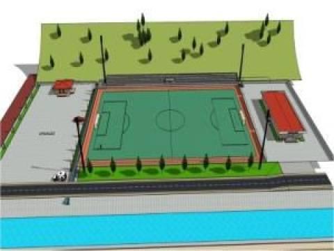 Kocaeli Doğantepe Spor Tesisi projesi hazırlandı!