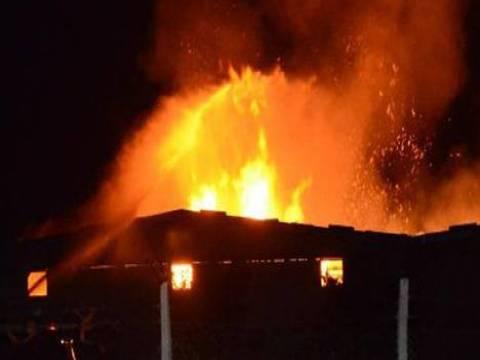 Tekirdağ Ergene'de bir iplik fabrikasında yangın çıktı!