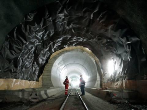 Gotthard Tüneli'nin inşasında Rönesans İnşaat yer alıyor!