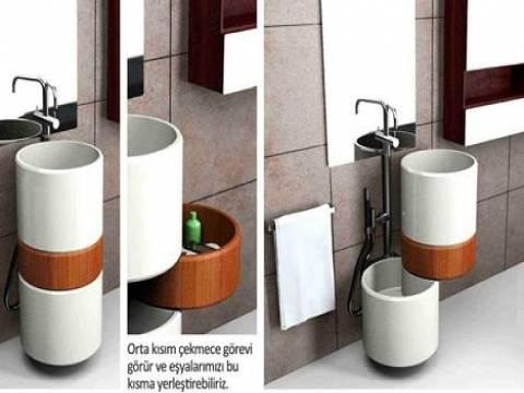 Mehmet Oğuz'un tasarlandığo çok amaçlı lavabo ödül aldı!