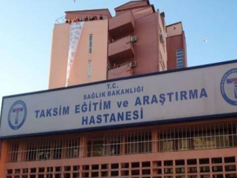 Yeni Taksim Eğitim ve Araştırma Hastanesi'nde sona geliniyor!