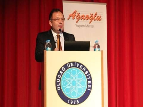Hasan Rahvalı, Uludağ Üniversitesi'nde gençlerle buluştu!