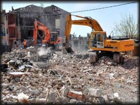 Manisa'daki riskli yapıların yüzde 40'ı yıkıldı!