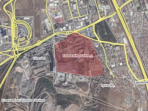 İzmir Bornova'daki Ede Demir Çelik Fabrikası 187,9 milyon TL'ye satılıyor!