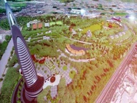 Kayseri'ye 160 metrelik seyir kuleli park inşa edilecek!