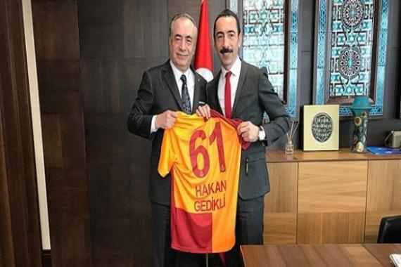 Mustafa Cengiz Hakan Gedikli'yi ziyaret etti!