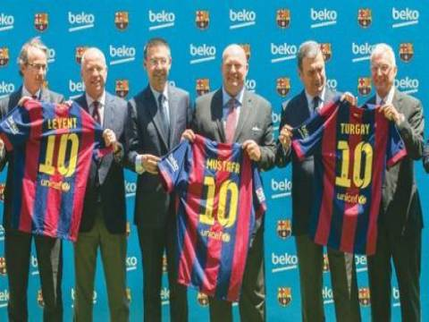 Barcelona'nın 3. büyük sponsoru Beko oldu!