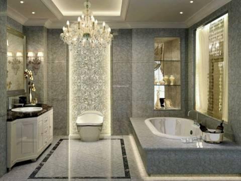 Lüks banyolara markalı inşaat girdi!