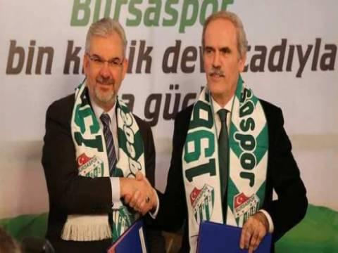 Timsah Arena'nın Bursaspor'a devri için protokol imzalandı!