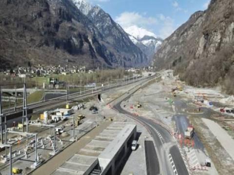 Rönesans Holding Gotthard Tüneli'ni yapıyor!