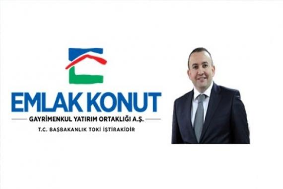 Ertan Keleş Emlak Konut Yönetim Kurulu Başkanı oldu!
