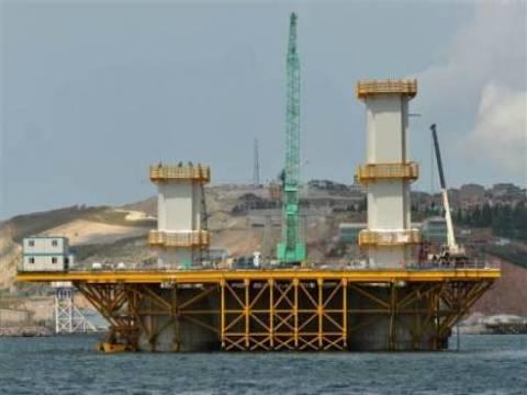 İzmit Körfez Geçişi Asma Köprüsü'nün inşaatı devam ediyor!