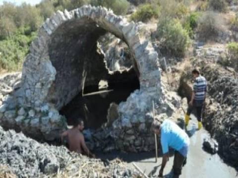 Ilıca Tepe'de Aydın Arkeoloji Müzesi denetiminde çalışmalar yapılıyor!