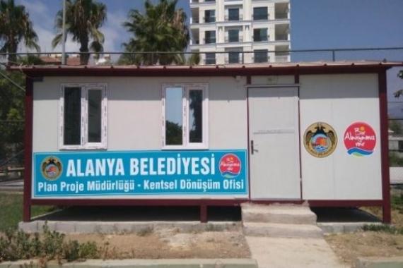 Alanya'da kentsel dönüşüm ofisi açıldı!