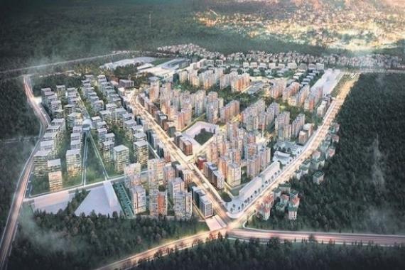 Sur Yapı Antalya'da ilk etap inşaatı bitti!